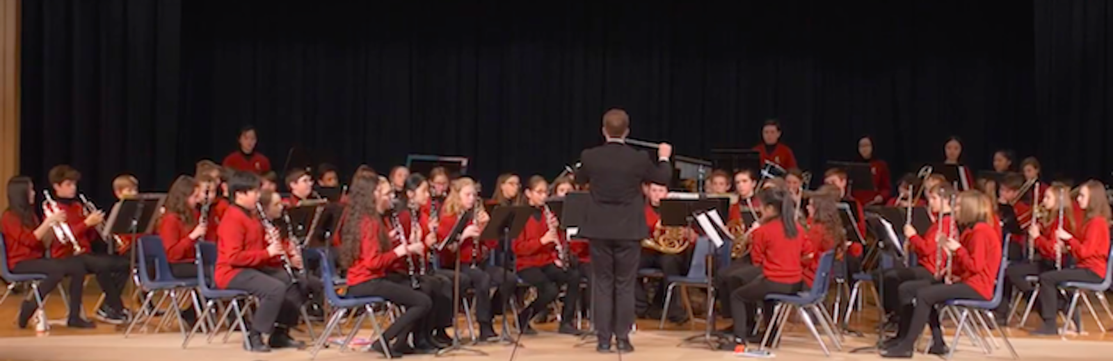 Pearson Concert Band at the Kiwanis Showcase Concert 2018